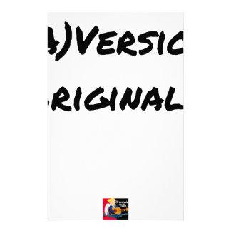 (A) Original version - Word games Stationery