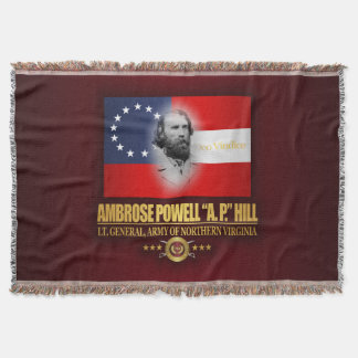 A.P. Hill (Southern Patriot) Throw Blanket