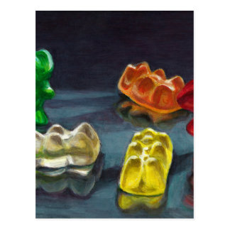 A Pack of Candy Postcard