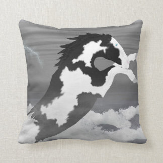 A Painted Storm Pillow