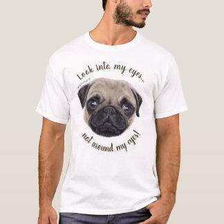 "A Painted Wee Shug The Pug! ""Hypnotist!"" T-Shirt"