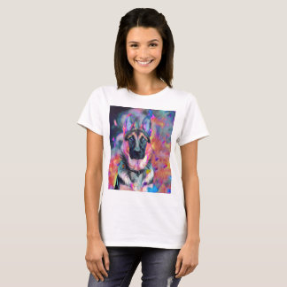 A painting from a German German painting. T-Shirt