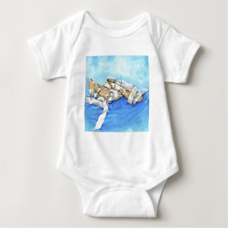 A Pair of Ballet Shoes Baby Bodysuit