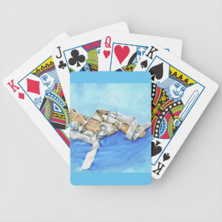 A Pair of Ballet Shoes Bicycle Playing Cards