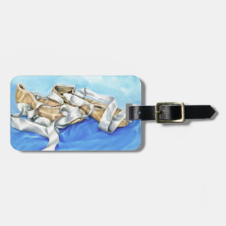 A Pair of Ballet Shoes Luggage Tag