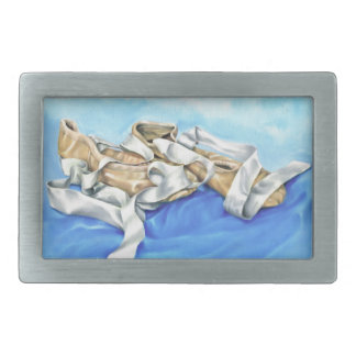 A Pair of Ballet Shoes Rectangular Belt Buckles