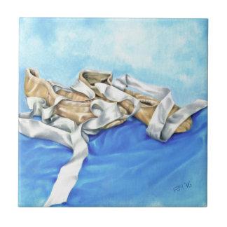 A Pair of Ballet Shoes Tile