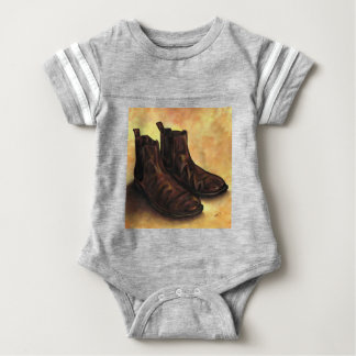 A Pair of Chelsea Boots Baby Bodysuit