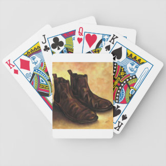 A Pair of Chelsea Boots Bicycle Playing Cards