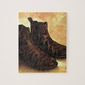 A Pair of Chelsea Boots Jigsaw Puzzle
