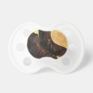 A Pair of Chelsea Boots Pacifiers