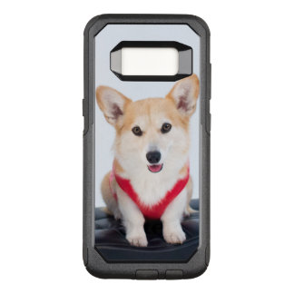 A Pair Of Corgis Sitting On A Bench OtterBox Commuter Samsung Galaxy S8 Case