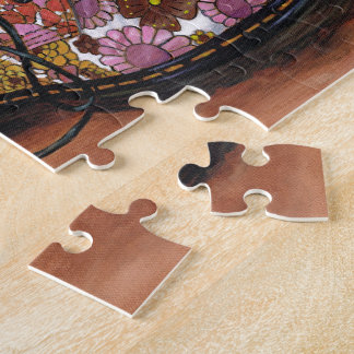 A Pair of Favourite Floral Boots Jigsaw Puzzle