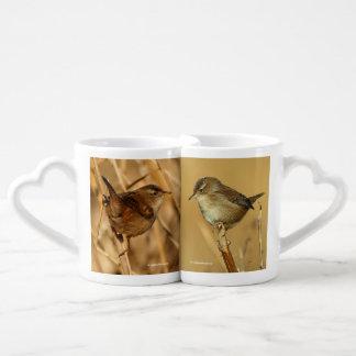 A Pair of Marsh Wrens Coffee Mug Set