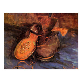 A Pair of Shoes by Vincent van Gogh Postcard