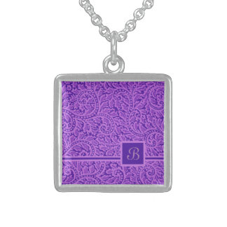 A Paisley Swirl 5 Sterling Silver Necklace