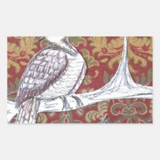 A Partridge in a Pear Tree 3.0 Rectangular Sticker