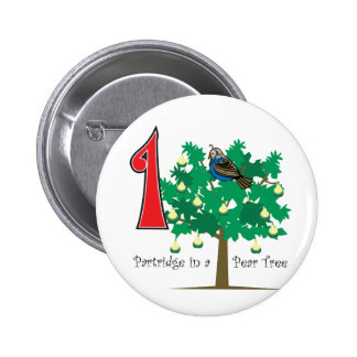 A Partridge in a Pear Tree Button