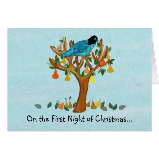 A Partridge in a Pear Tree Cards