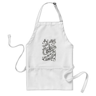 """""""A party without cake is just a meeting"""" quote Standard Apron"""