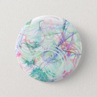 A Pastel Garden 6 Cm Round Badge