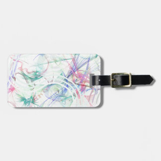 A Pastel Garden Luggage Tag