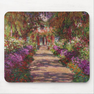 A Pathway in Monet's Garden, Giverny, 1902 Mouse Pad