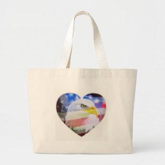 A Patriotic Heart Bags