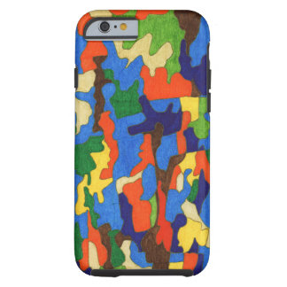 "A pattern made by words. Japanese ""Play"". Tough iPhone 6 Case"