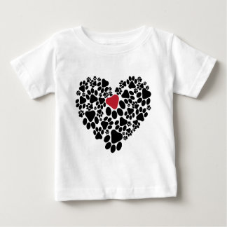 A paw touched my heart V2 Baby T-Shirt
