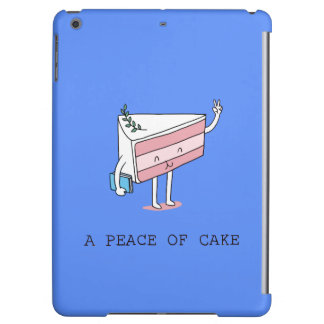 A peace of cake cover for iPad air