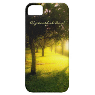A peaceful day! case for the iPhone 5