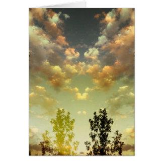 A Peaceful Sky Card