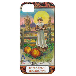 A peaceful thanksgiving barely there iPhone 5 case