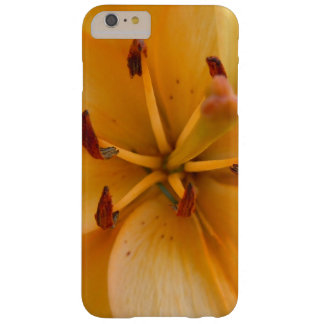 A Peachy Orange Lily Barely There iPhone 6 Plus Case