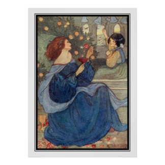 A Peal of Bells by Florence Harrison Poster