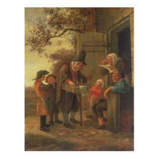 A Pedlar selling Spectacles Postcard