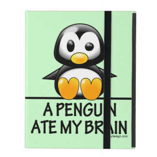 A Penguin Ate My Brain Case For iPad