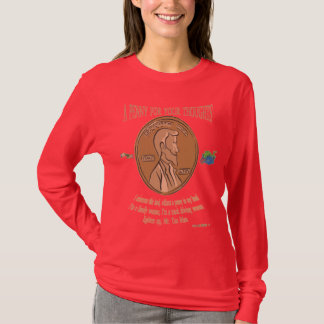 a penny for your thoughts for woman T-Shirt