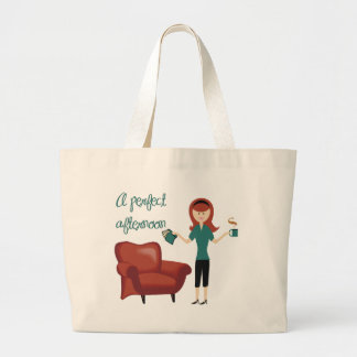 A Perfect Afternoon Book Tote