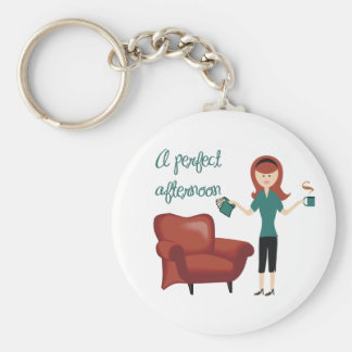 A Perfect Afternoon Keychain