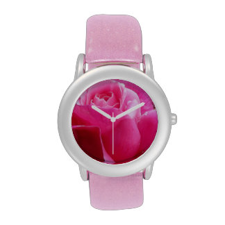 A Perfect Deep Pink English Rose Wrist Watches