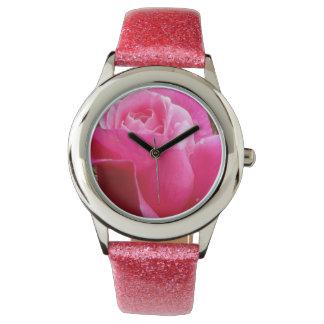 A Perfect Deep Pink English Rose Watch