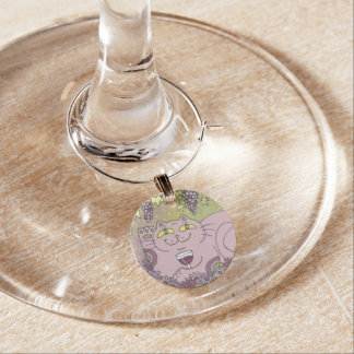 A Perfect Glass of Pinot Noir Wine Glass Charm