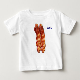 A Perfect Match - Bacon Baby T-Shirt