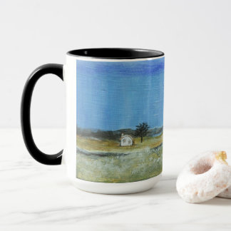 A Perfect Storm, Landscape Painting Large Coffee Mug