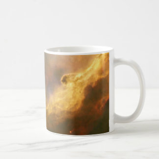 A Perfect Storm of Turbulent Gases in the Omega Coffee Mug