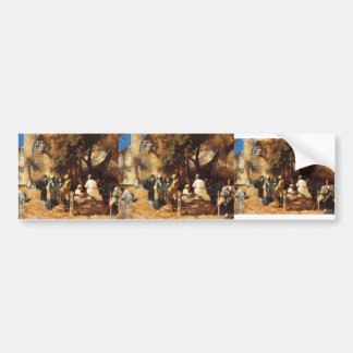 A Persian Cafe by Edwin Lord Weeks Bumper Stickers