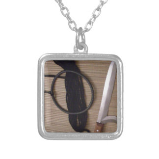 a person has to be wholehearted in order to gain s silver plated necklace