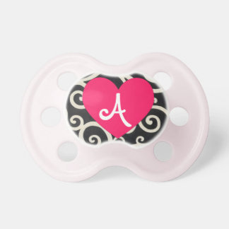 """""""A"""" Personalized Initial Pacifier"""